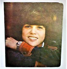 """Vintage Donny Osmond 3 Ring Binder- """"Superstars Notebook"""" 1972"""