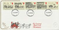 GB 1984, The Royal Mail se-tenant strip on very fine ill. Cotswold FDC CLEVELAND