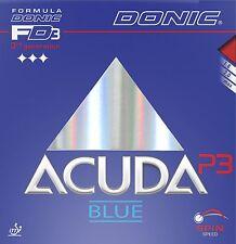 Donic Acuda Blue P3 Revestimiento de Tenis de Mesa Revestimiento de Ping Pong