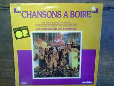 chansons à boire Les compagnons de la barrique  disque vinyle 33 tours CO 1036