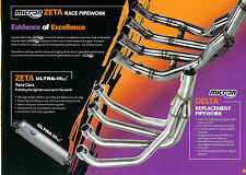 MICRON ZETA ZX6R 2000- STAINLESS PERFORMANCE HEADERS