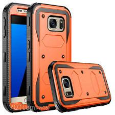 Samsung Galaxy S7 Edge S8 + Plus Case Silicone Rubber Protective Clip Belt Cover