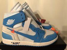 Nike Air Jordan 1 X Off-white Unc Powder Blue Uk 11 Eur 46 Us 12 Trusted Seller