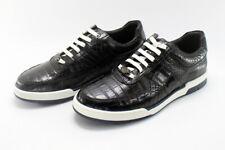 Men's Shoes Genuine Crocodile Alligator Skin Leather , Size 9US - 42EU #S0971