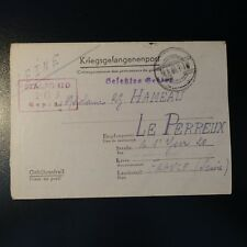 LETTERA PRIGIONIERO DA GUERRA STALAG II-D 16.05.42 KRIEGSGEFANGENENPOST POW