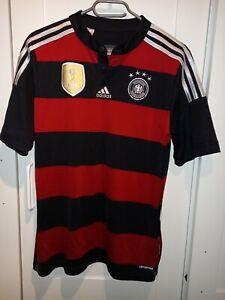GERMANY 2014/2015 AWAY FOOTBALL SHIRT JERSEY ADIDAS