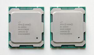 2x Intel Xeon E5-2699 V4 QK10 QS CPUs 2.2GHz (22C/44T) LGA2011-3 Dell HPE LENOVO