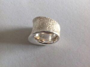 ITAOR Italian Silver Dress Ring