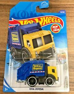 Hot Wheels Total Disposal #055 HW Metro 1/10 Yellow/Blue VHTF!! 2020