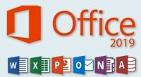 Office 2019 Pro Plus 32/64 Bit Flash/DVD Installation & Authentic Product Key