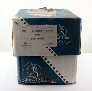 """Challenge Listing Paper 8"""" x 241mm Plain 1-Part (Box 3000)"""