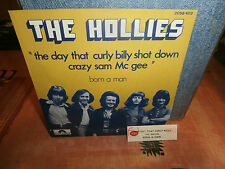 "the hollies""the day that curly""single.or.fr.polydor.2058403+encart pour juke-box"
