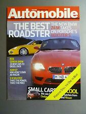 2006 Porsche Boxster Roadster Showroom Sales Brochure Rare!! Awesome L@@K