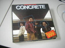 LP Punk 999 - Concrete (12 Song) ALBION ARIOLA Nine Nine Nine