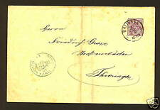 WURRTEMBERG #O3 On Cover BALLINGEN Cancel SCV$10.00