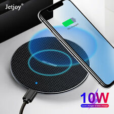 10W Qi Wireless Charger For Galaxy S10+ iPhone 11 Pro Max Xs Fast Charging Pad