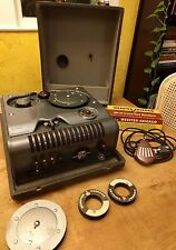 Vintage Webster Chicago 18-1 wire recorder, MM-38 microphone, two spools