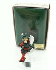 Fairies Figurine Ornament Vintage 1988 Enesco Festival of  Flower Original Box