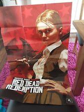 Cartel Pared Arte Rockstar Games Red Dead Redemption