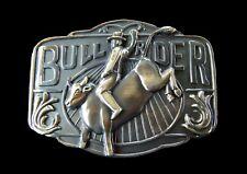 Cool Cowboy Cow Ranch Bull Rider Western Belt Buckle Boucle de Ceinture