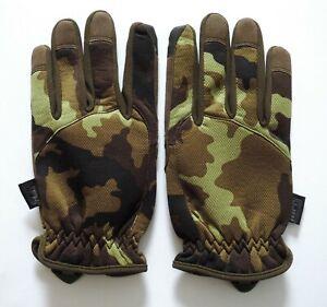 MFH Fingerhandschuhe Lightweight M 95 CZ Tarn Größe L/Large Camo Camouflage