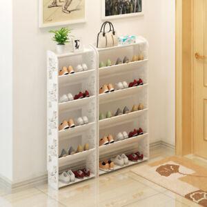 Super Thin Kids Shoe Display Rack Large Storage Oragniser Shoe Rack