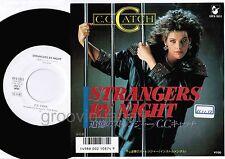 "Promo C.C. CATCH Strangers By -MODERN TALKING JAPAN 7"" VINYL w/PS VIPX-1851"