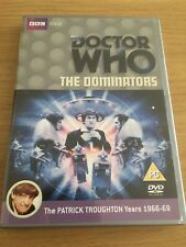 Doctor Who The Dominators DVD Patrick Troughton