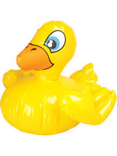 Yellow Duck Farm Animal Bathtub Ducky Inflatable 18""