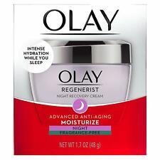 Olay Regenerist Night Recovery Cream Advanced Moisturize 1.7 Oz ~ Fragrance Free