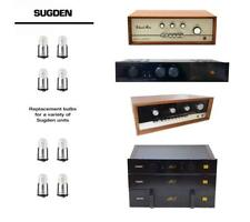 Replacement bulb set for SUGDEN A21aP Integrated Amplifier - US SELLER