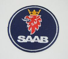 """SAAB Cars Iron-On Griffin Automotive Car Patch 3.5""""  99 900 9000"""