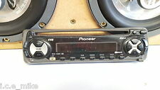 PIONEER DEH-1300R CD FACE OFF FRONT SECURITY PANEL ONLY,POP FASCIA,