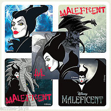Maleficent Stickers x 5 - Princess - Favours, Birthday - Aurora/Sleeping Beauty