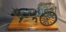"Arthur Norby Bronze ""Red River Cart"" Limited Edition Number 2 of 15"
