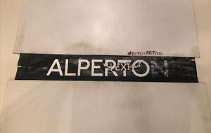"Alperton London Bus Route Blind 84 42"" - Alperton (bex)"