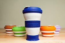 POKITO Collapsible Reusable Coffee Cup Travel Mug 16oz. Dishwasher & Spill Proof