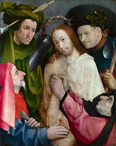 Hieronymus Bosch - Christ Mocked (The Crowning with Thorns) Museum Canvas Print