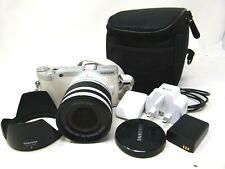Samsung NX NX300 20.3MP Digital SLR Camera w/ 18-55mm Lens-White-Used