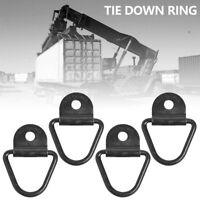 4pcs Boucle arrimage robuste D-Ring Anneau de fixation Lashing Eye Remorquage BA