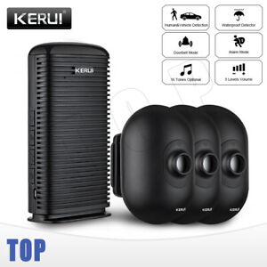KERUI Outdoor waterproof Driveway Patrol Garage Infrared Wireless Burglar Alarm