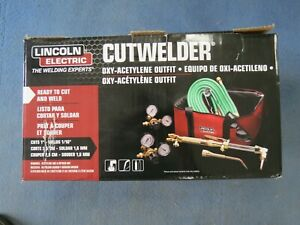 New Lincoln Electric Cutwelder Oxy-Acetylene Outfit KH995 (Open Box)