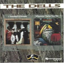 SOUL The Dells I touched a dream & Whatever turns you on CD 1980/81 2 LP RARE !