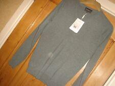 100% Homme Cashmere Pull Neuf de la marque Eric BOMPARD taille S gris 245 euros