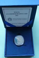 Malta 2 Euro Gedenkmünze 2011 Wahl Abgeordneten commemorative coin Etui Proof