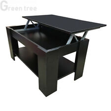 "Redstone Coffee Table - Black or Dark Walnut ""-"" Lift Up Top with Storage..."