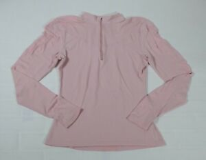 Nike Fit Dry Women's Pink 1/4 Zip Pullover Sz M
