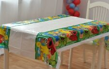 SESAME STREET TABLE CLOTH COVER TABLECLOTH BIRTHDAY PARTY LOLLY LOOT BAG SUPPLY