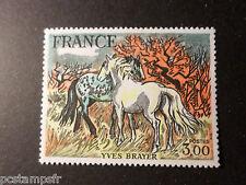 FRANCE - 1978 yvert 2026 Tableau Brayer chevaux, neuf**
