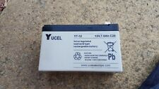 Yucel  (12V 7Ah), General Purpose Lead Acid Rechargeable Battery